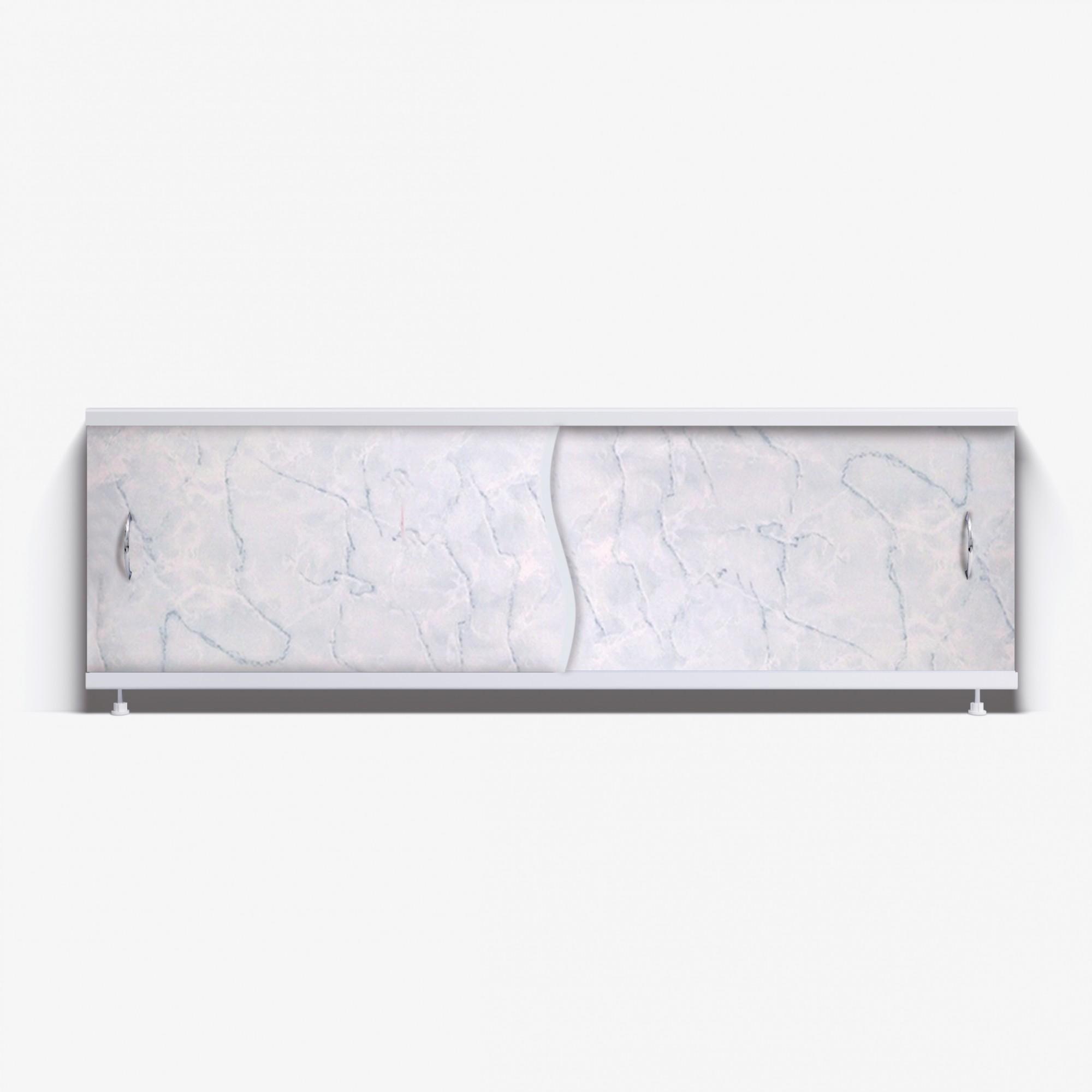 Экран под ванну Премьер 150 серый мрамор