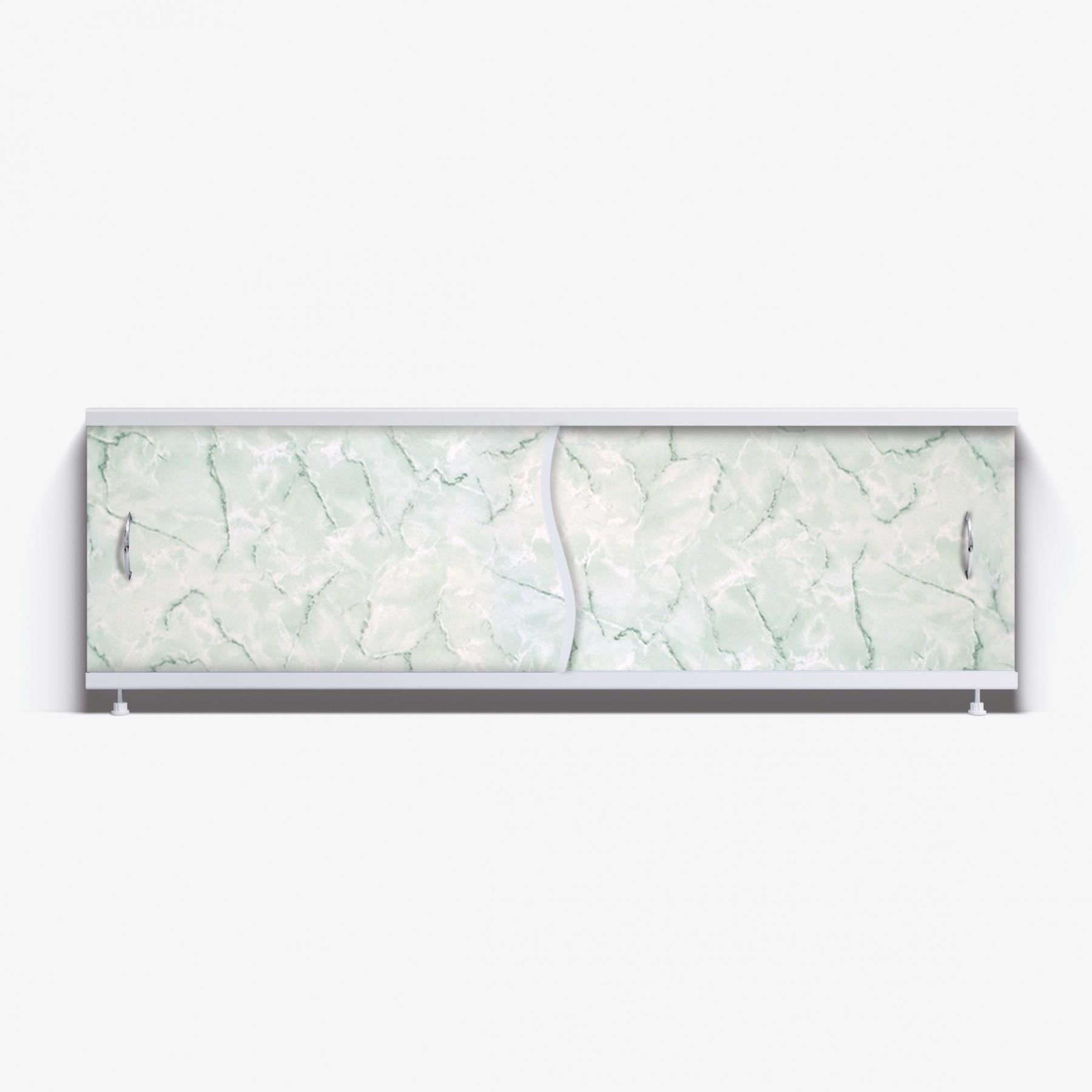 Экран под ванну Премьер 170 зеленый мрамор