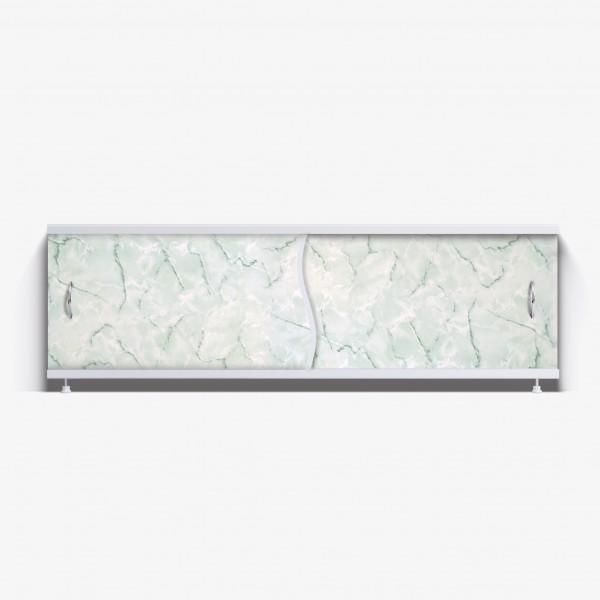 Экран под ванну Премьер 150 зеленый мрамор