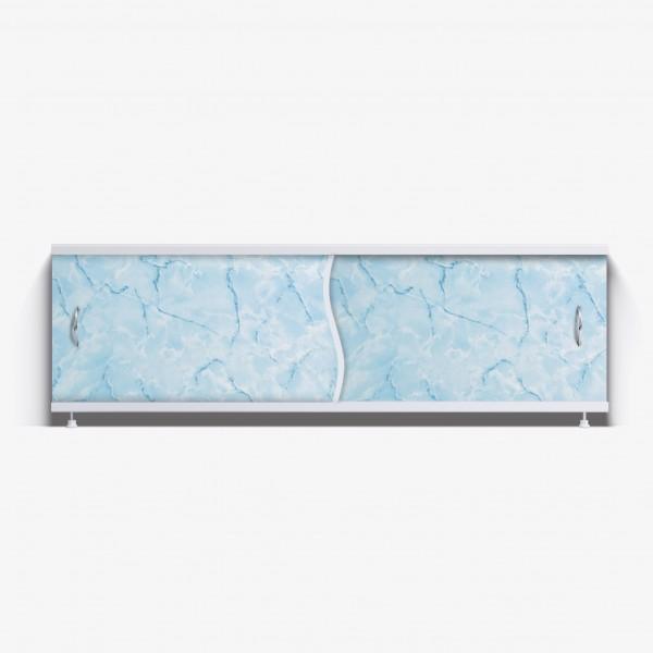 Экран под ванну Премьер 150 голубой мрамор