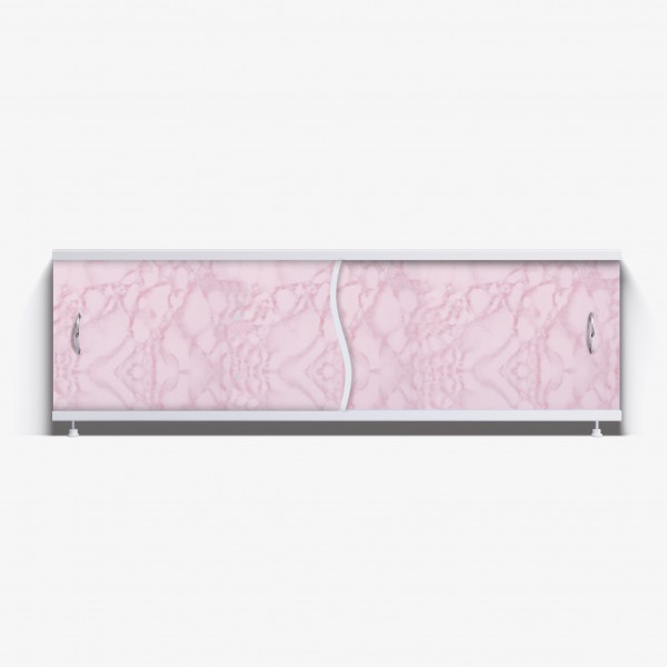 Экран под ванну Премьер 170 розовый закат