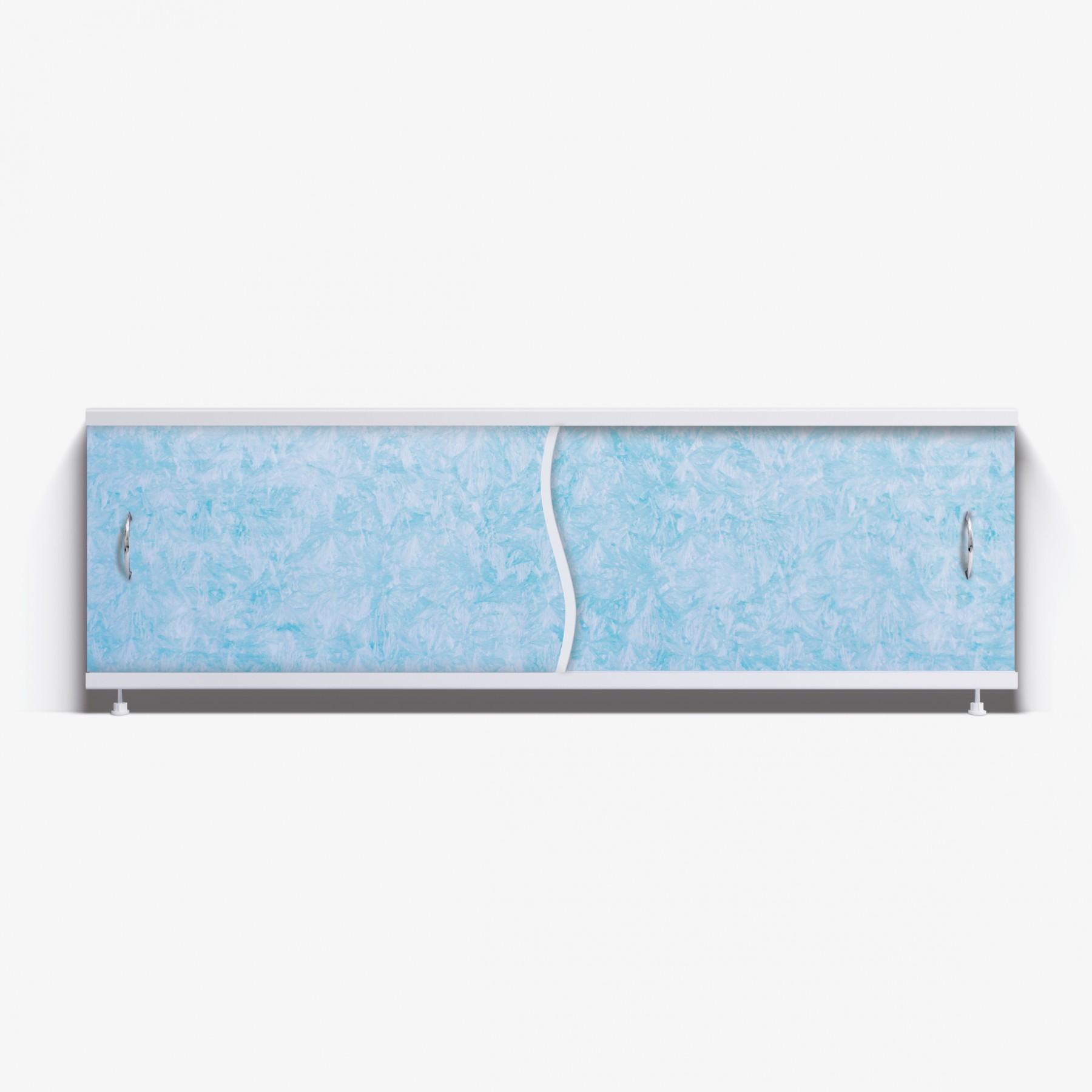Экран под ванну Премьер 170 голубой мороз