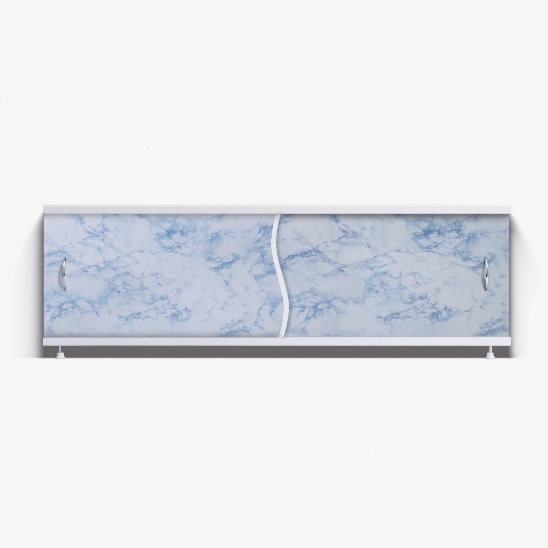Экран под ванну Премьер 170 серо-синий мрамор
