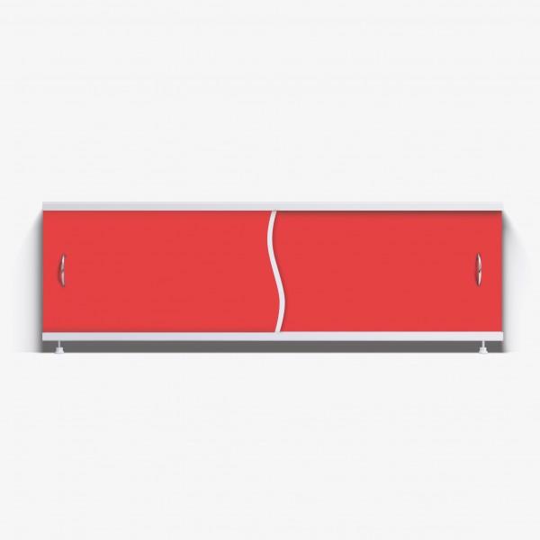 Экран под ванну Премьер 150 красный