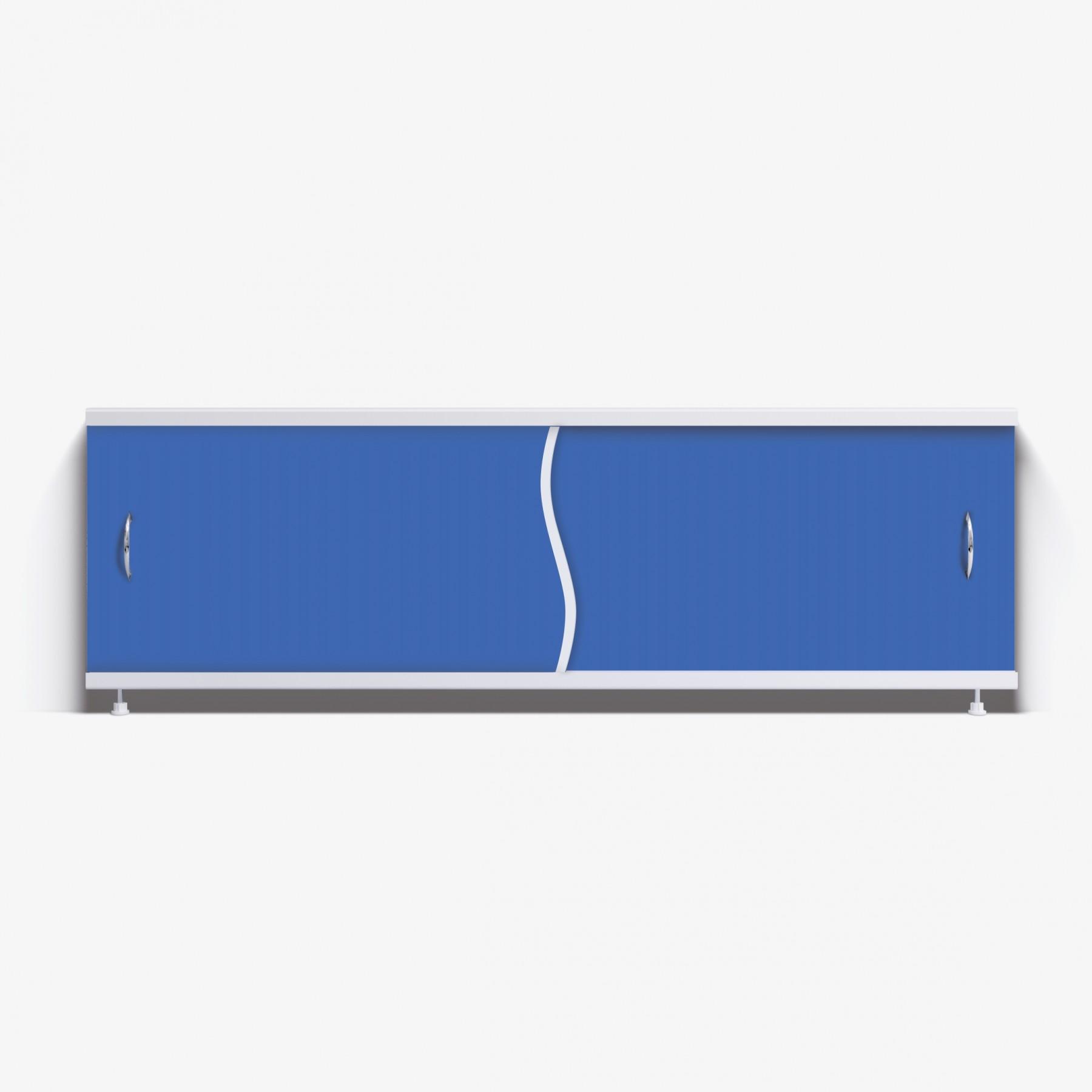 Экран под ванну Премьер 170 синий
