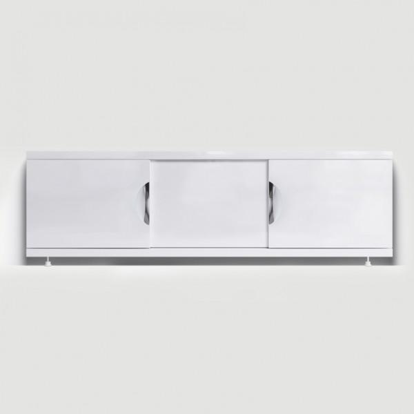 Экран под ванну раздвижной (купе) 150 см МДФ Monaco Still белый