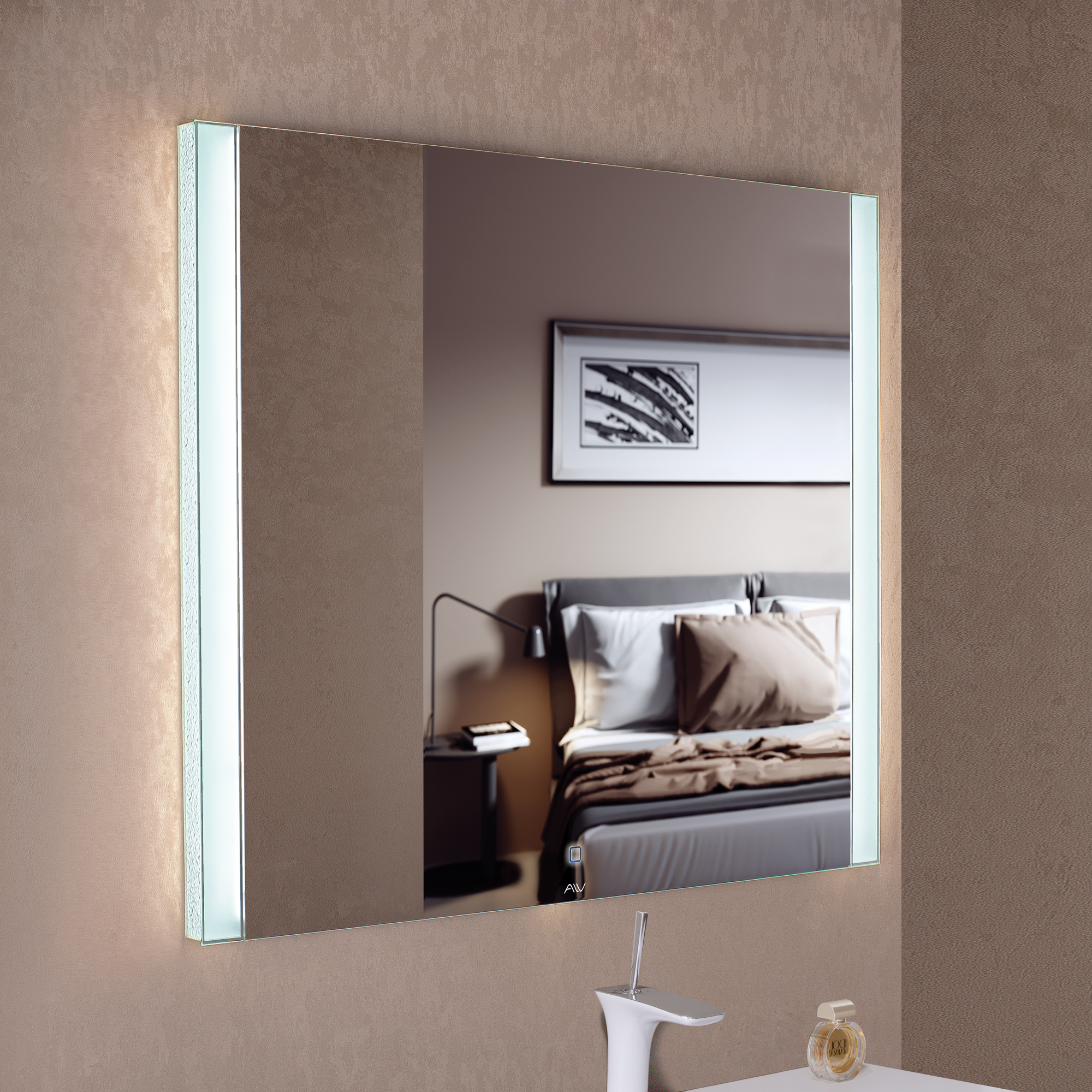 Зеркало с подсветкой Tess 100