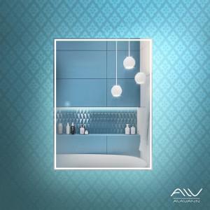 Шкаф зеркальный Via 60 белый