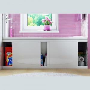 Экран под ванну Crystal 170 см раздвижной