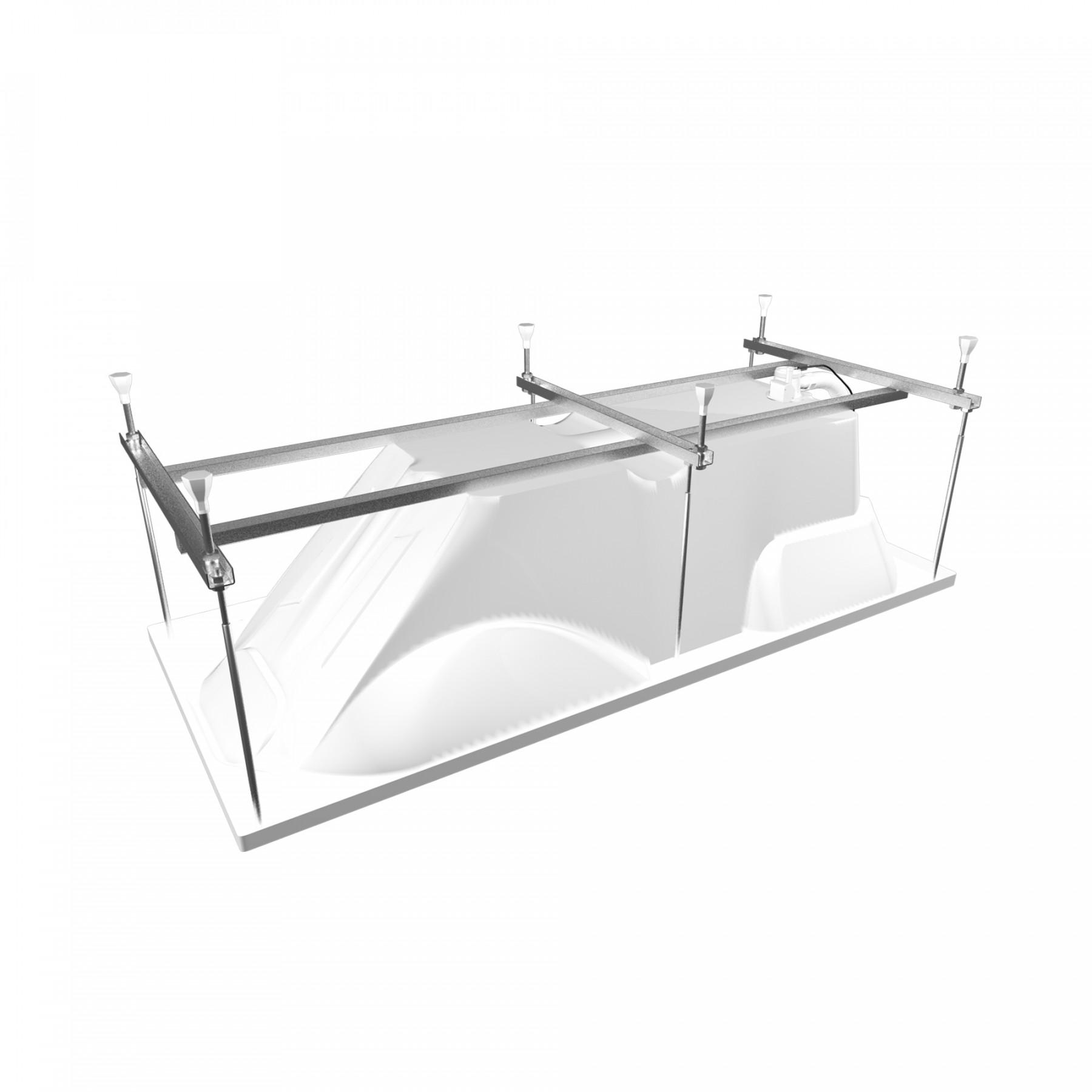 Акриловая ванна Triton Диана 170x75
