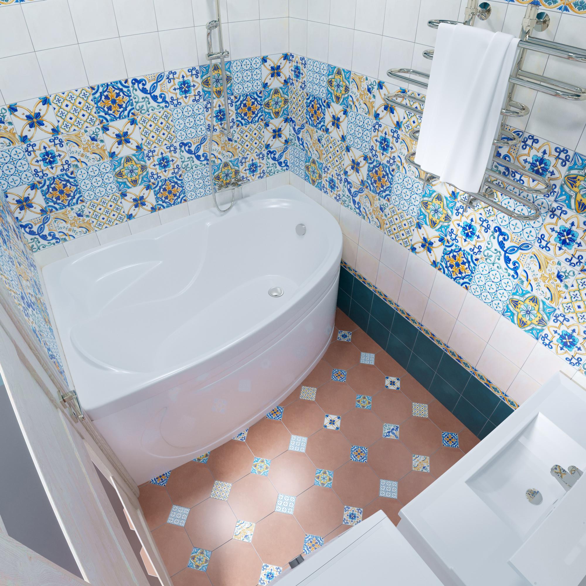 Акриловая ванна Triton Кайли 150x100 правая