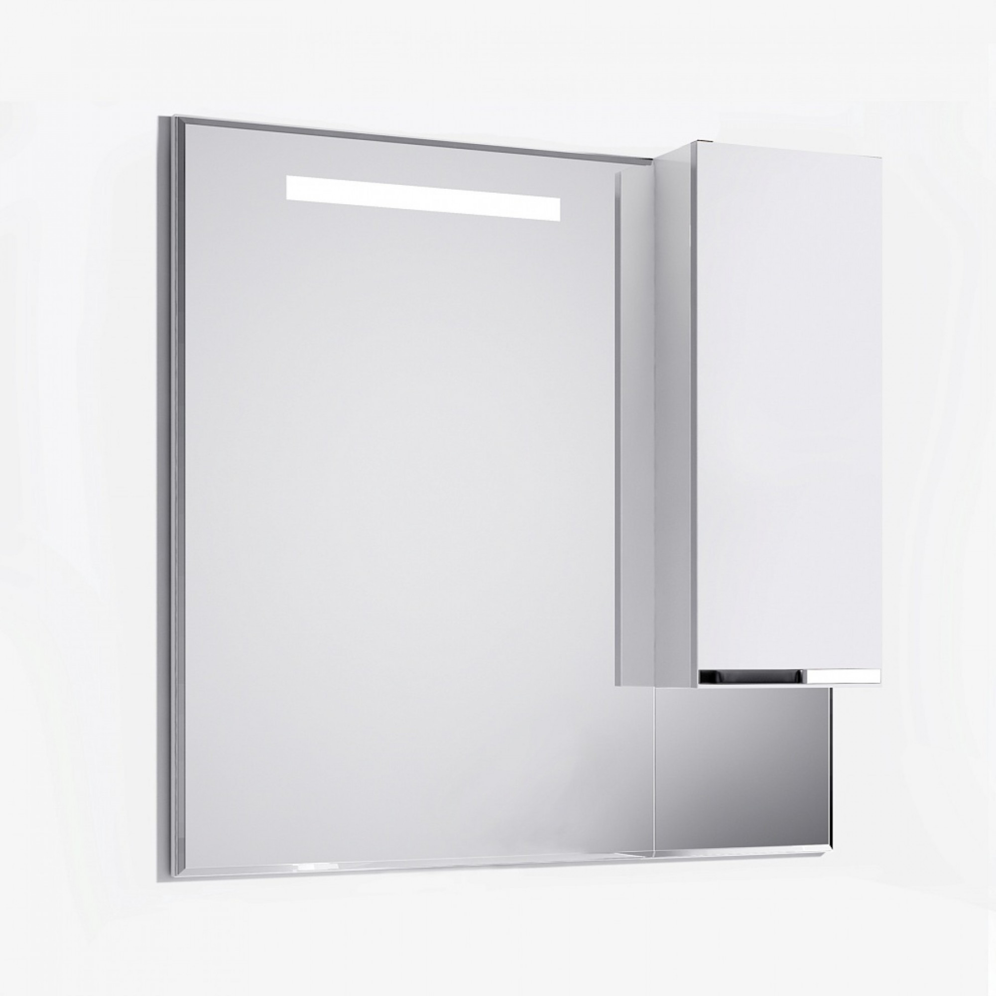 Зеркало-шкаф Latte 100 белый
