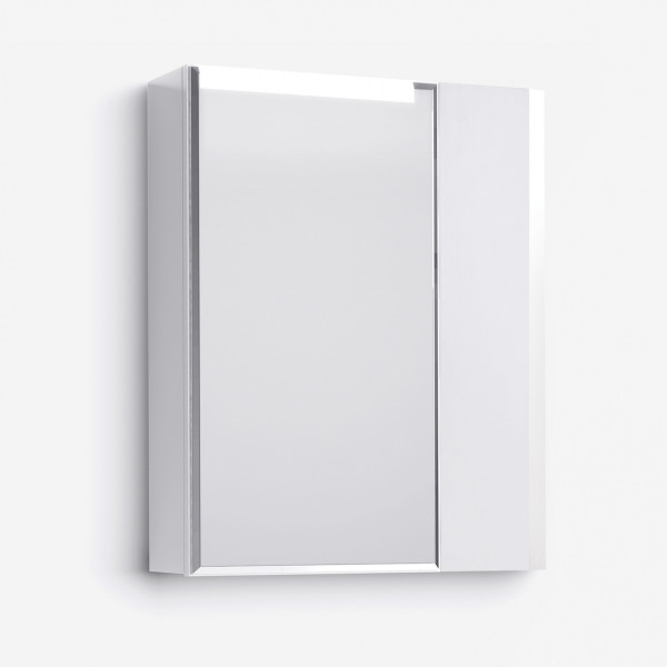 Шкаф зеркальный Latte 60 белый