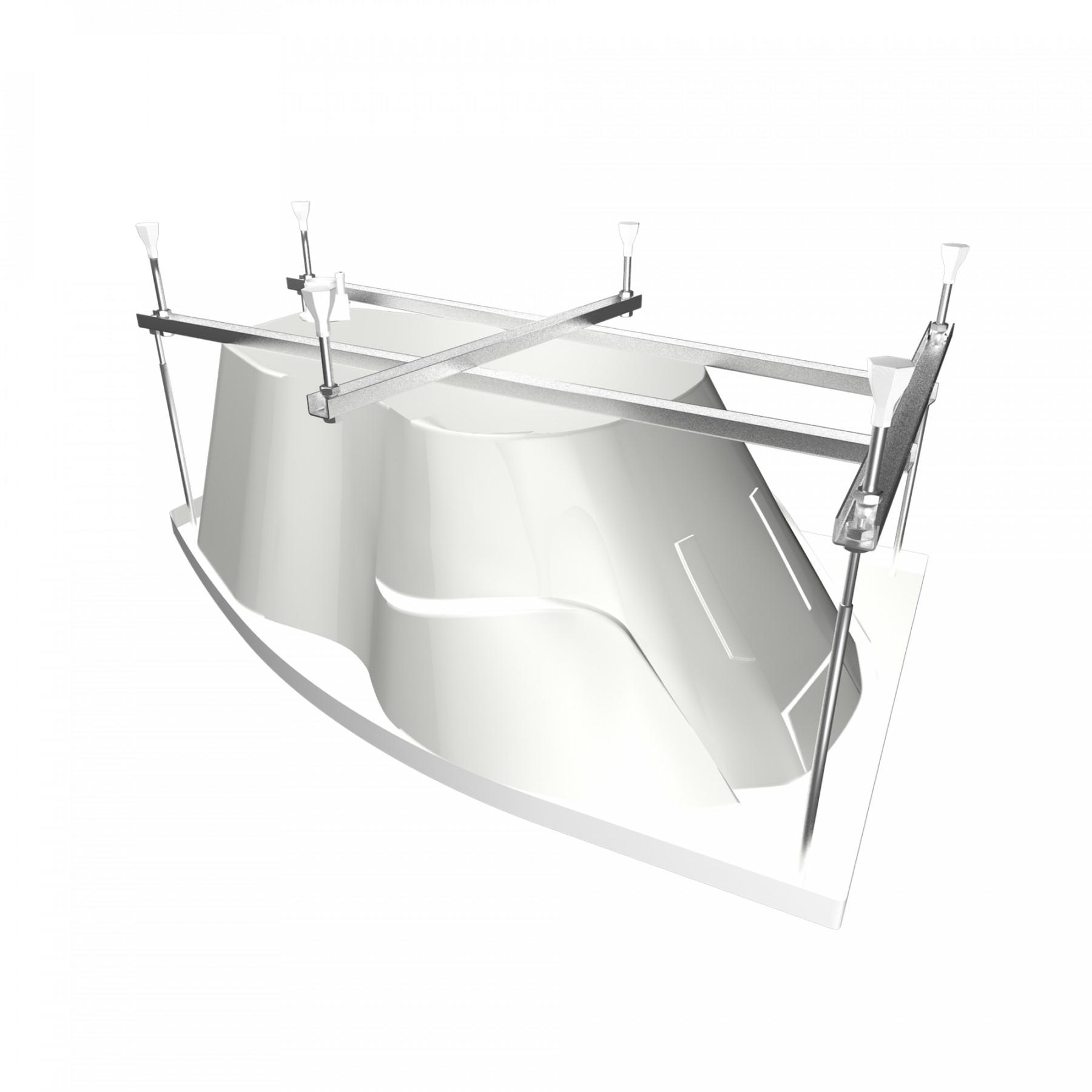 Акриловая ванна Triton Лайма 160x95 левая