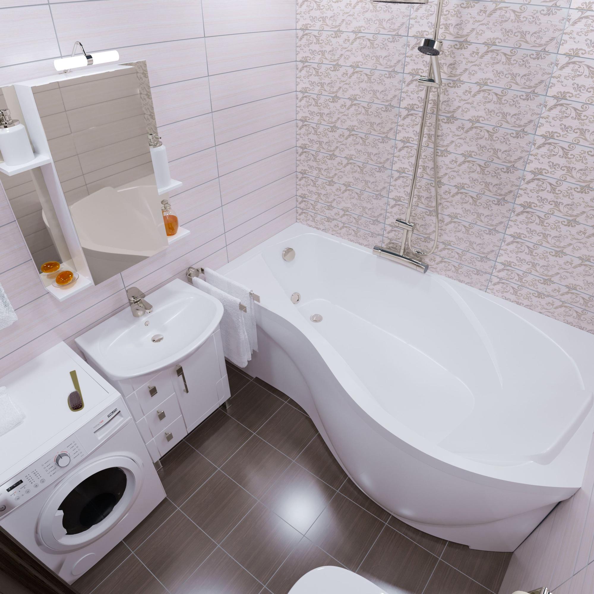 Акриловая ванна Triton Мишель 180x96 левая