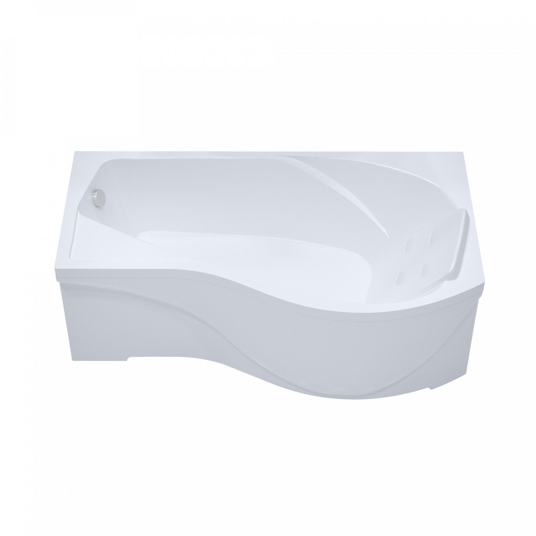 Акриловая ванна Triton Мишель 170x96 левая