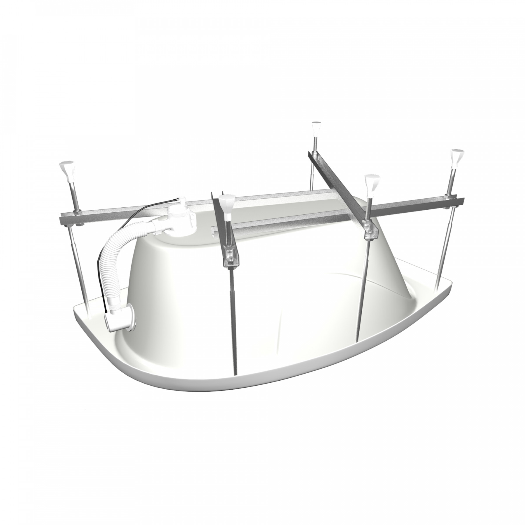 Акриловая ванна Triton Николь 160x100 левая