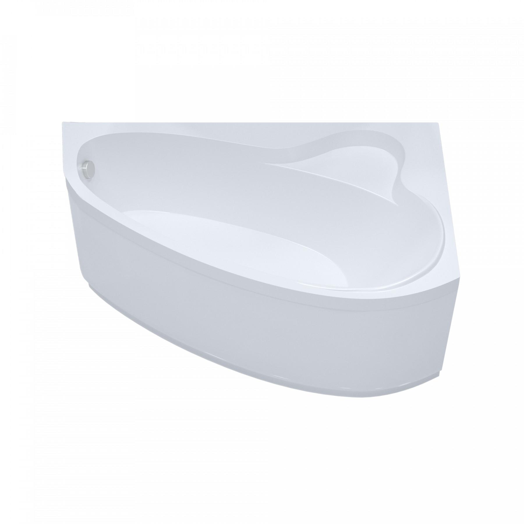Акриловая ванна Triton Пеарл-шелл 160x104 левая