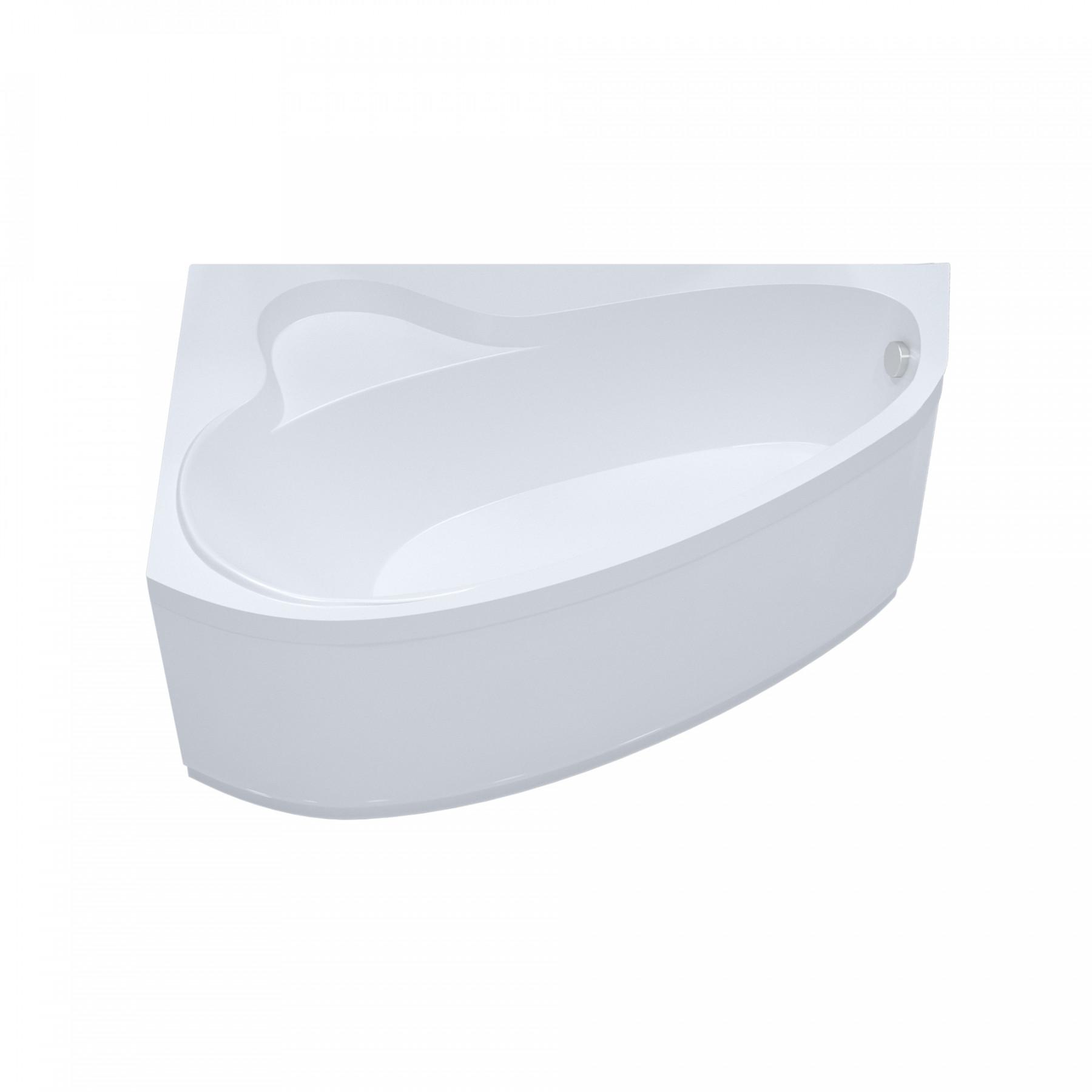 Акриловая ванна Triton Пеарл-шелл 160x104 правая