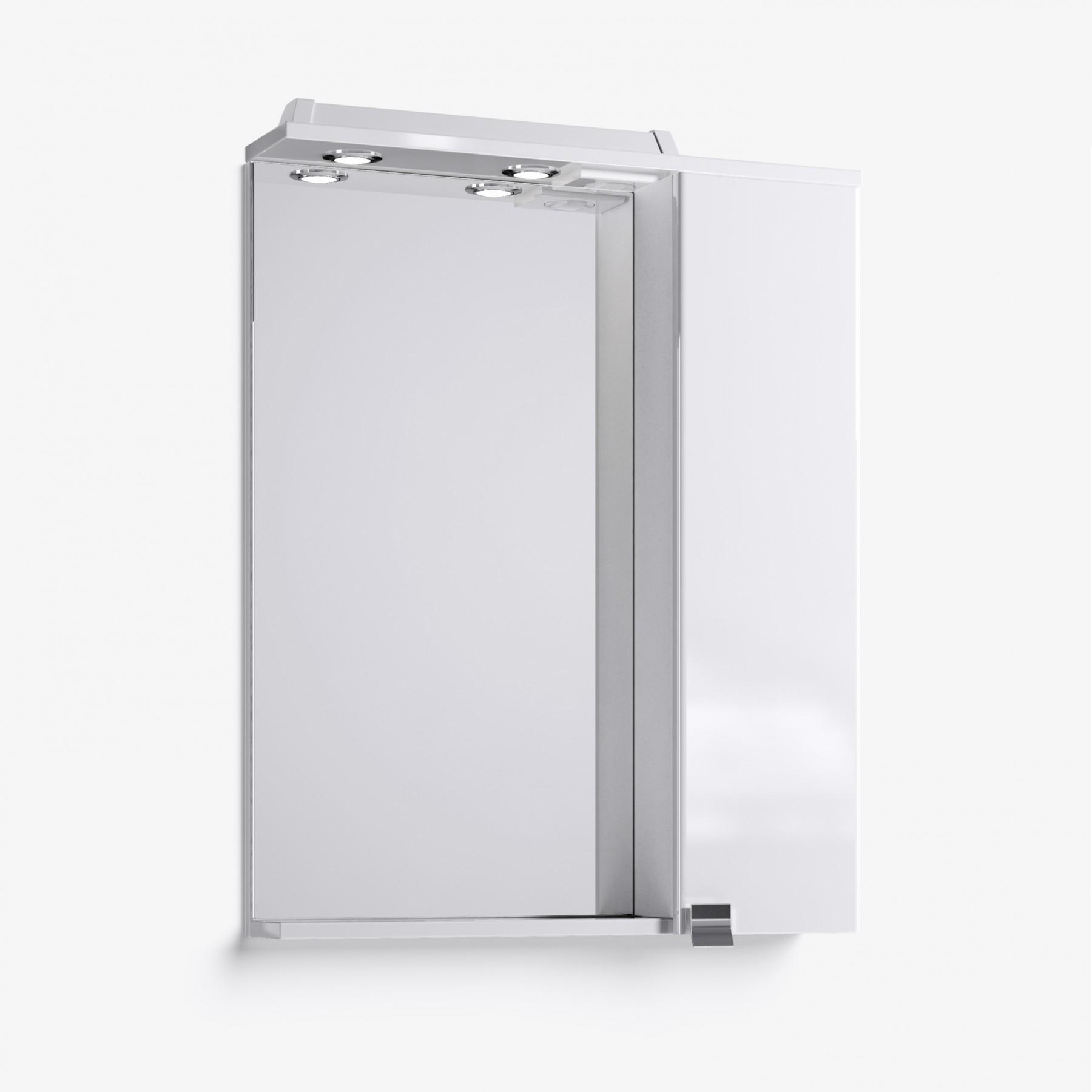 Зеркало-шкаф Эстель 60 белый