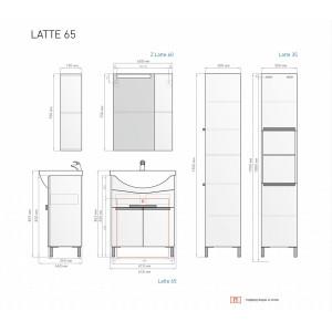 Гарнитур LATTE 65 венге