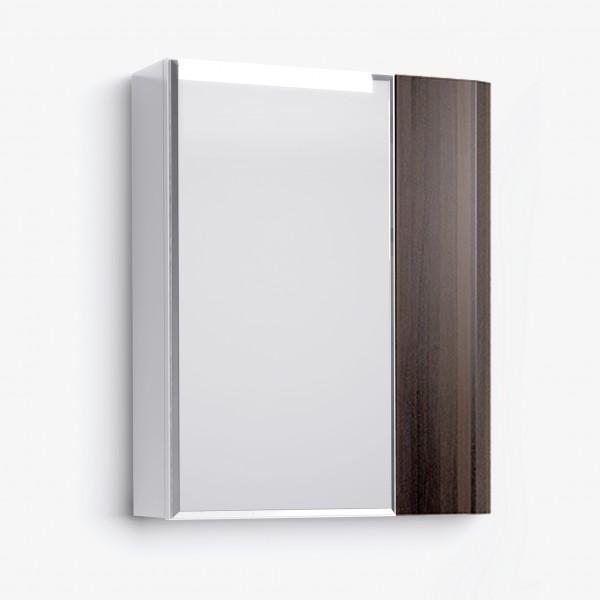 Шкаф зеркальный Latte 60 венге