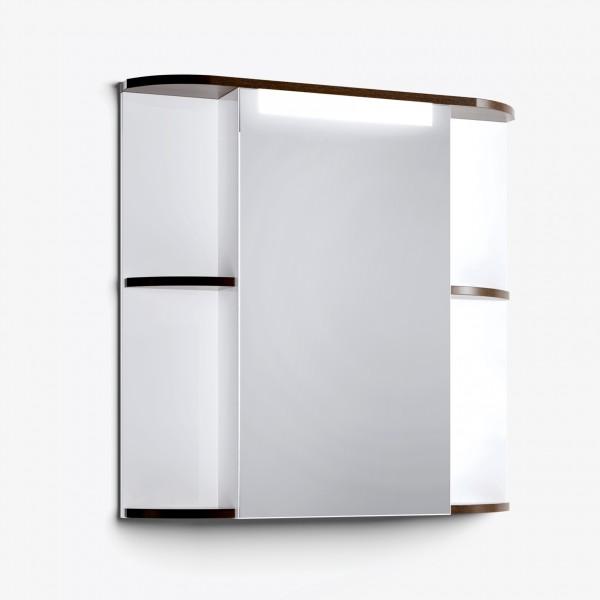 Шкаф зеркальный Latte 75 венге