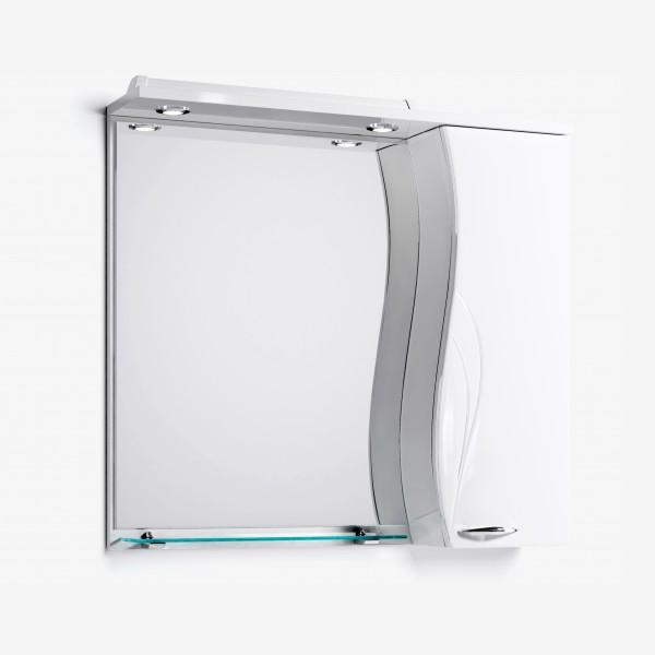 Зеркало-шкаф Мишель 82 белый