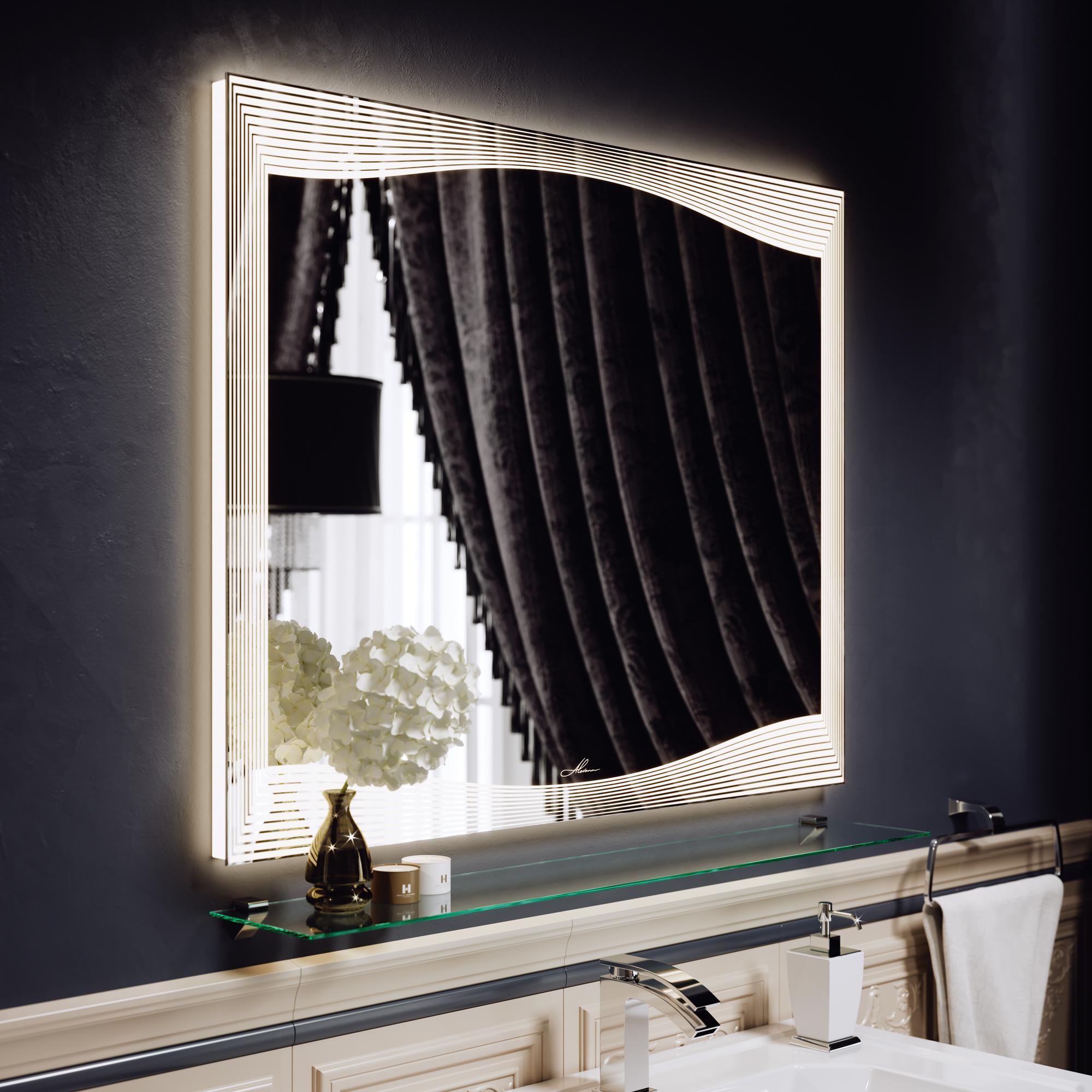 Зеркало с подсветкой Monaco 70