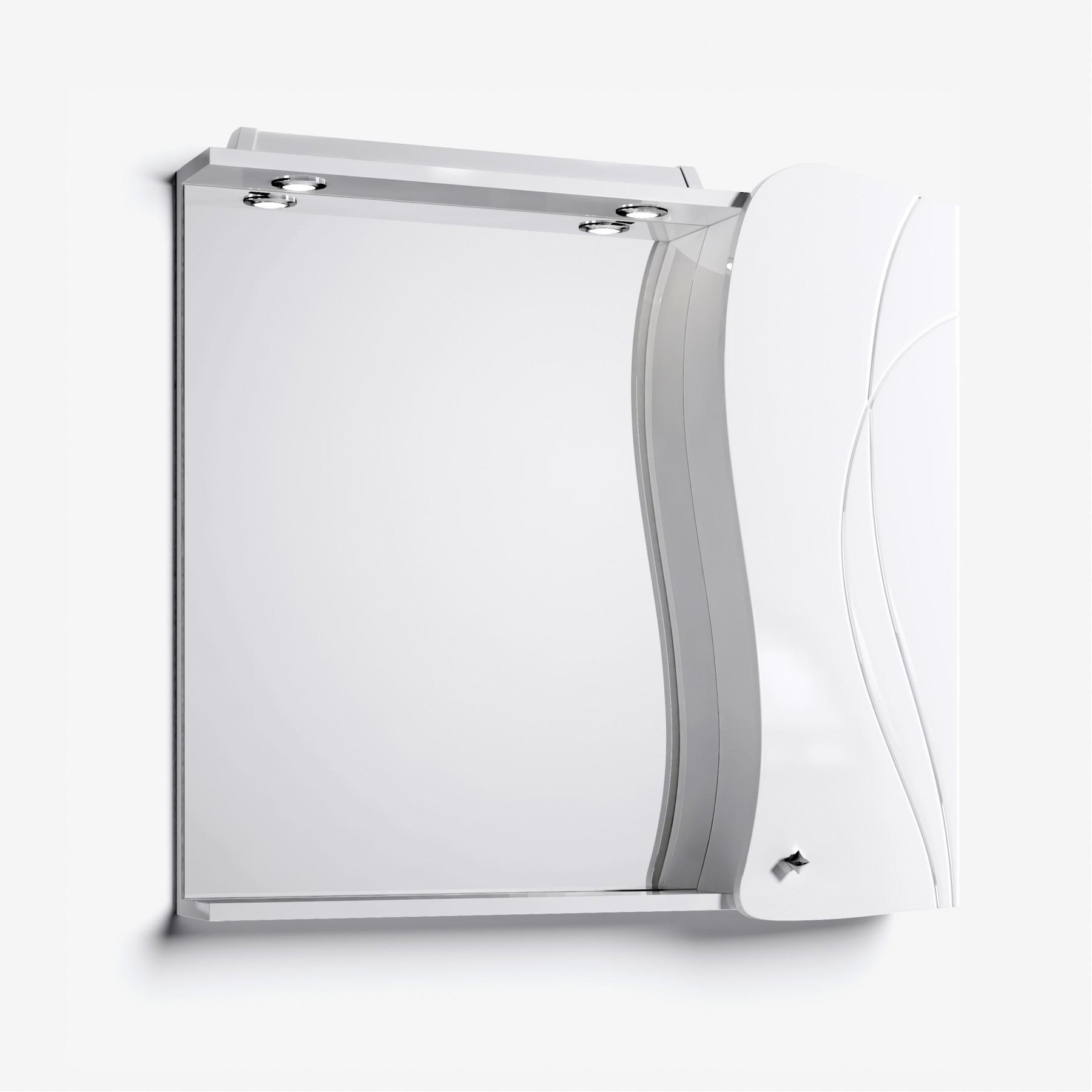 Зеркало-шкаф Вивьен 90