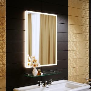 Зеркало с подсветкой Bella 35 600x800