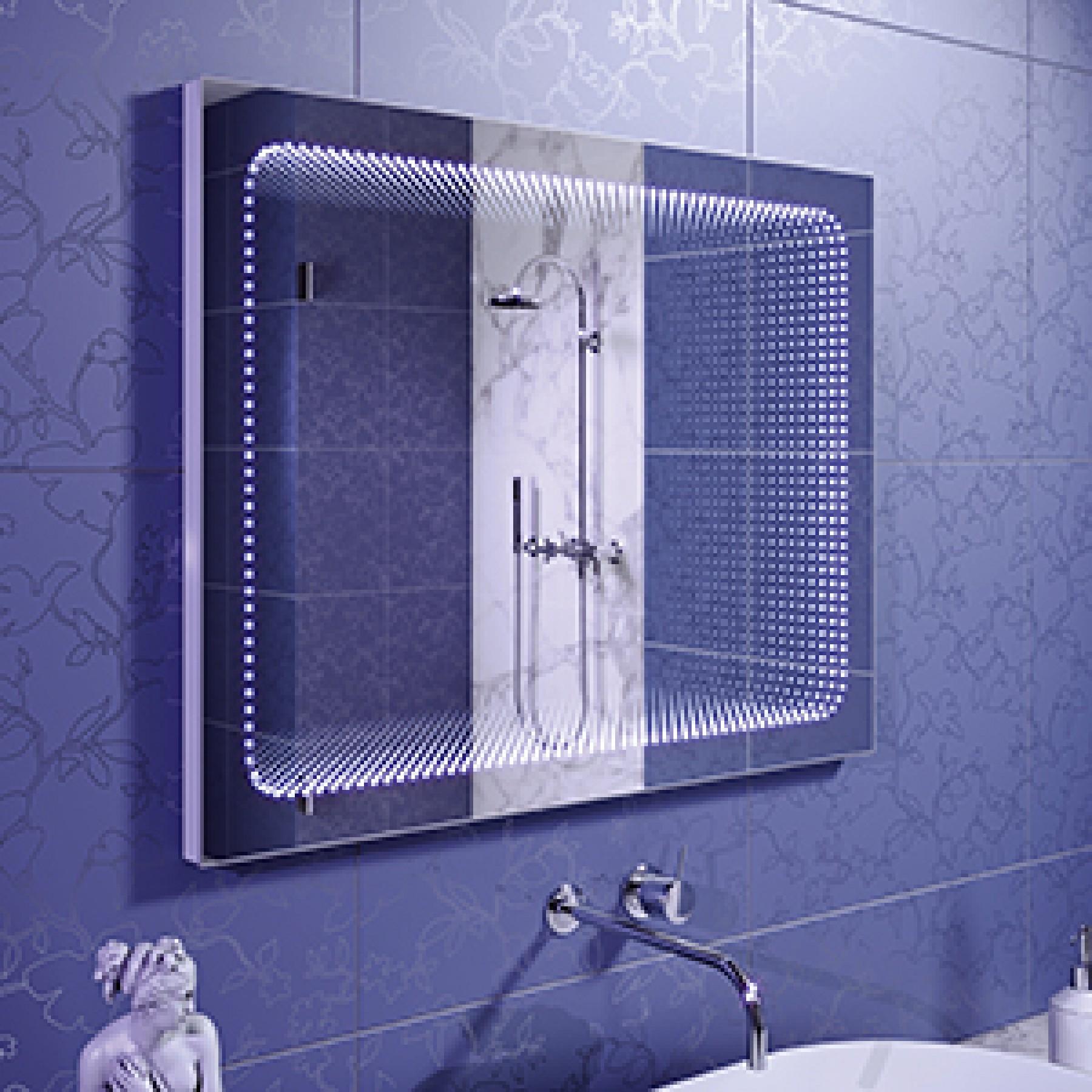 Зеркало с подсветкой Infiniti 800