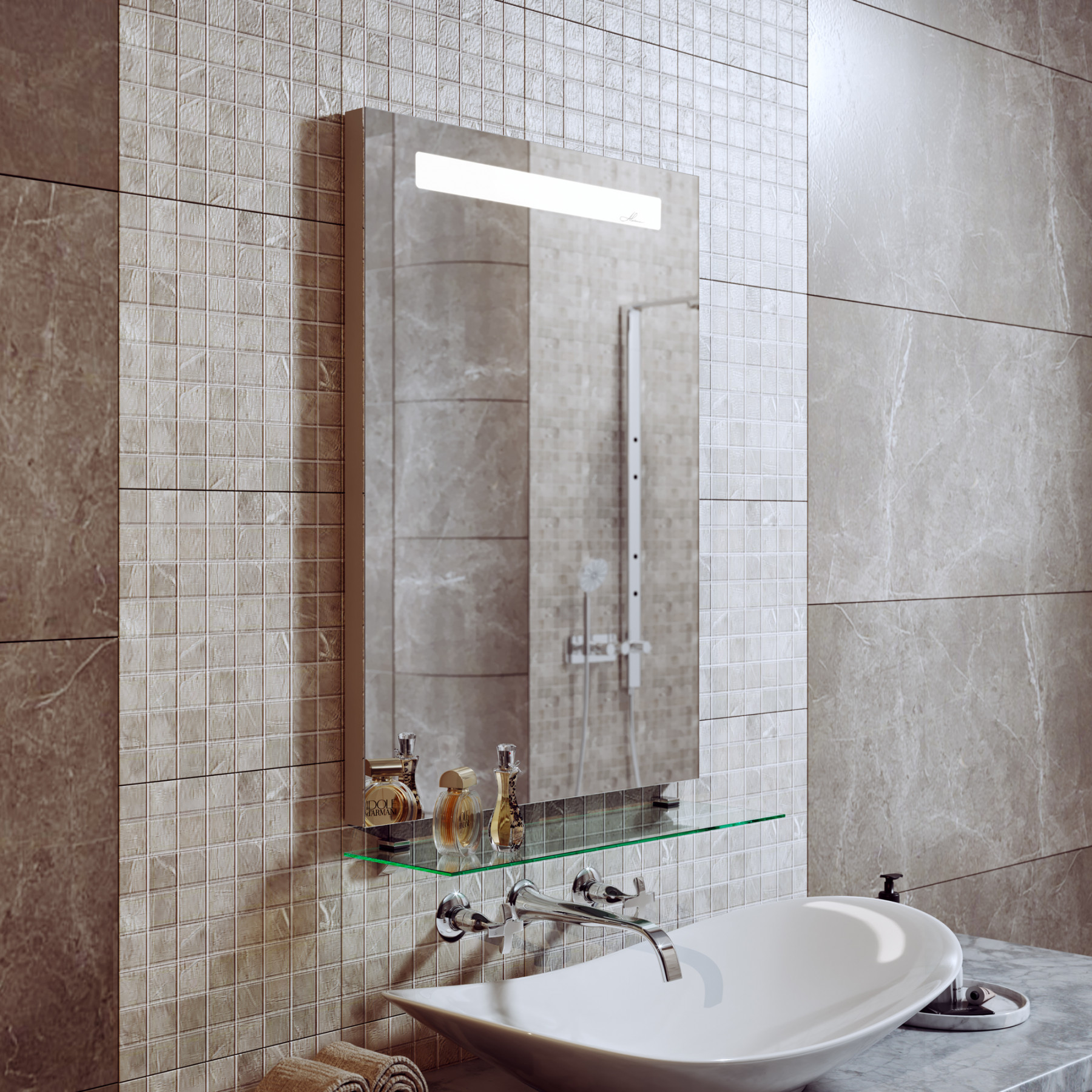 Зеркало с подсветкой Neve 70