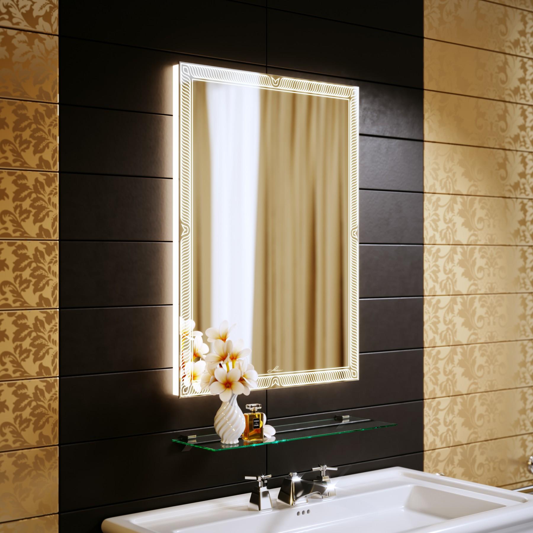 Зеркало с подсветкой Sonata 60