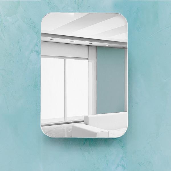 Шкаф зеркальный Monaco 55 белый