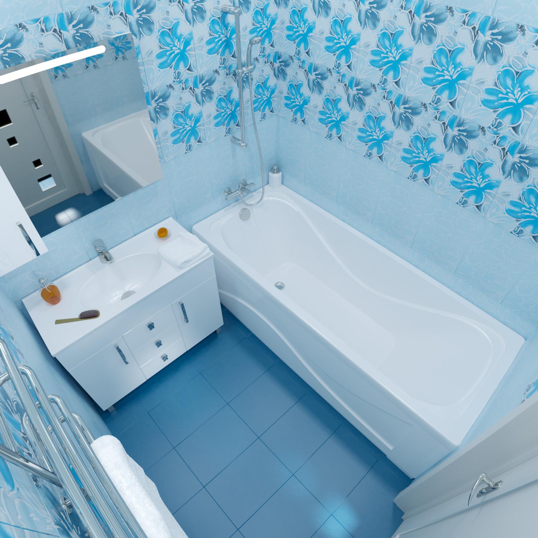 Акриловая ванна Triton Стандарт 170x75