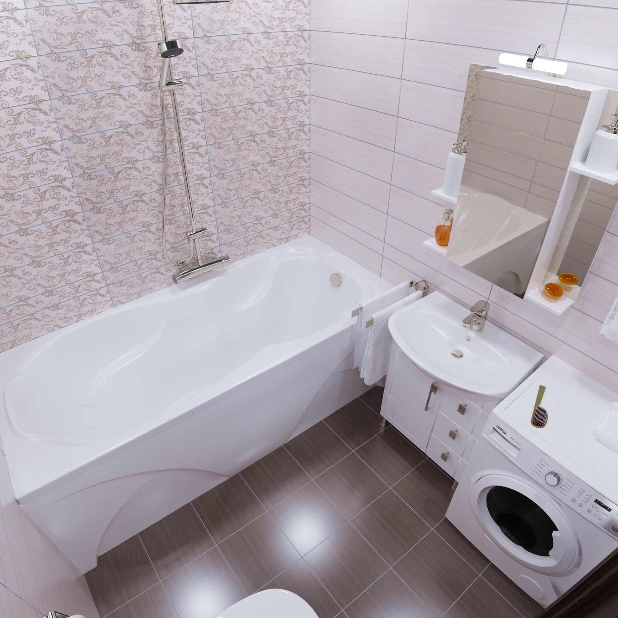 Акриловая ванна Triton Цезарь 180x80