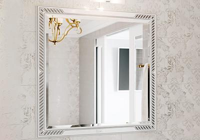 Зеркало рококо или викторианского стиля