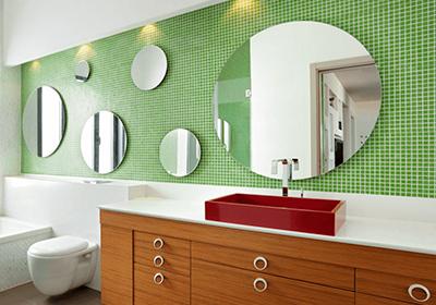 Матовое зеркало