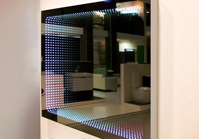 Цветное 3d зеркало