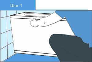 Примерка экрана под ванну